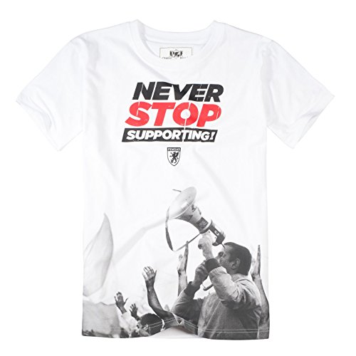 PG Wear Never Stop Supporting T-Shirt White
