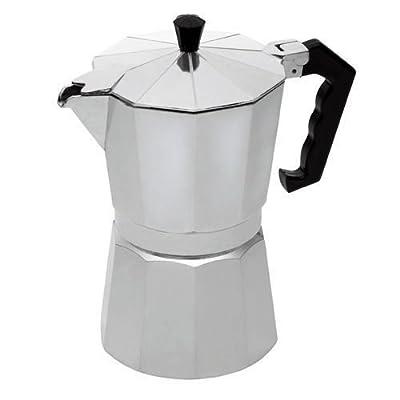 2 Cup Continental Espresso Coffee Maker Aluminium Stove TOP Percolator Moka Pot