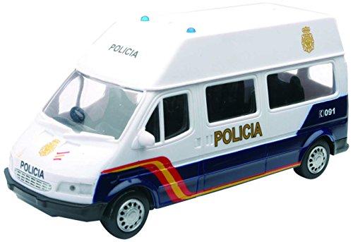 New Ray Furgoneta Policía Nacional, 1:32, color azul y blanco (56103)