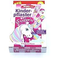 WUNDmed Kinderpflaster Einhorn 10 Stück wasserabweisend preisvergleich bei billige-tabletten.eu