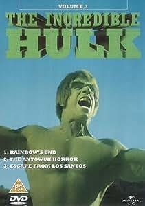 The Incredible Hulk: Volume 3 - Rainbow's End/Antowuk Horror/... [DVD]