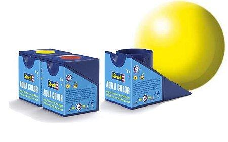 revell-luminous-yellow-satin-colori-acrilici-18ml-vaso-di-aqua-modello-colore-della-vernice-per-la-m