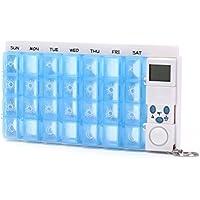 Audrly Pillenbox 7 Tage Mit Praktischer Schubladenfunktion | Medikamentenbox | Pillendose | Tablettendose | Tablettenbox... preisvergleich bei billige-tabletten.eu