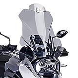 Spoiler-Aufsatz Yamaha YZF-R 125 Puig Clip-On rauchgrau