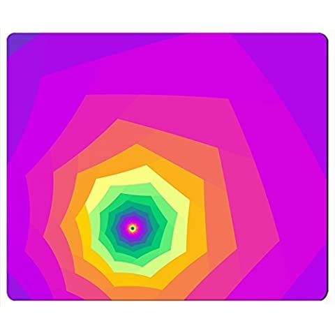 Colori Brillanti Tunnel rettangolo mouse pad tappetino