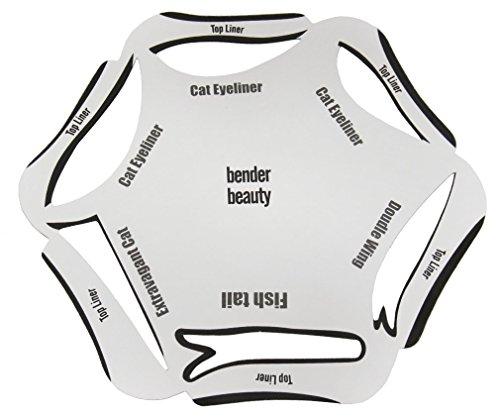 SGerste 6 in 1 Eyeliner Schablone Kosmetik Guide Set Vorlage Schnell Cat Make-up Smoky Werkzeug