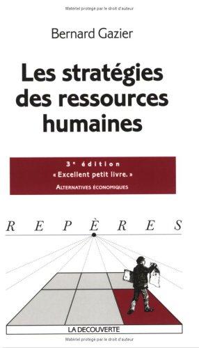 STRATEGIES DES RESSOURCES HUMA