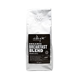 Allegro Coffee Breakfast Blend Ground Coffee, 227g