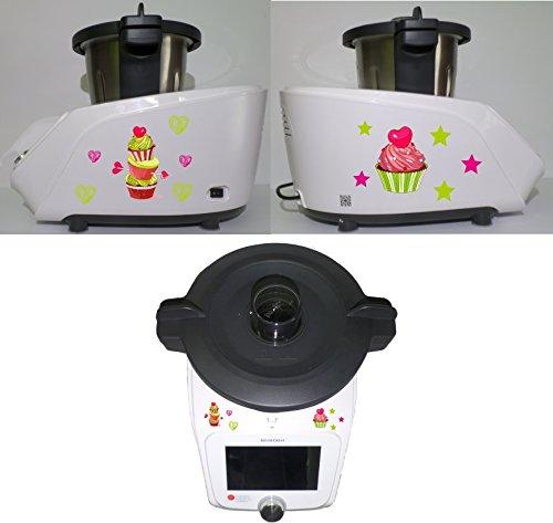 Grafix-Pegatina Monsieur Cuisine Connected Muffin