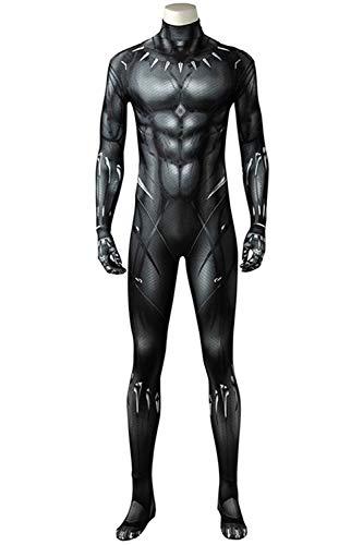 MingoTor Superheld Outfit Jumpsuit Bodysuit Halloween Cosplay Kostüm Herren M