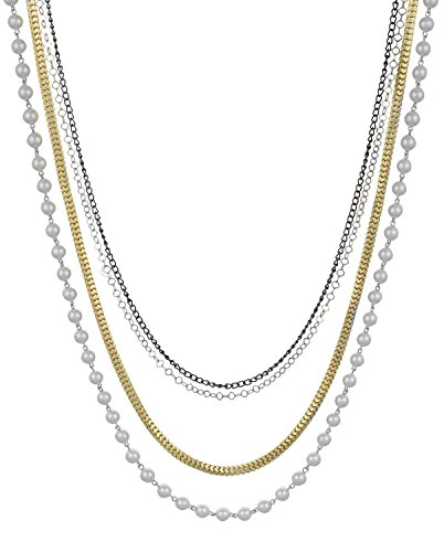 sempre-london-european-collection-chain-pearl-4-strand-necklace-with-18ct-three-tone-plated-chain-de