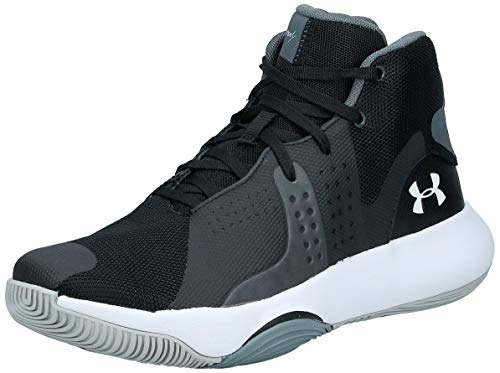 Under Armour Herren UA Anomaly Basketballschuhe, Schwarz (Black 3021266-004), 41 EU