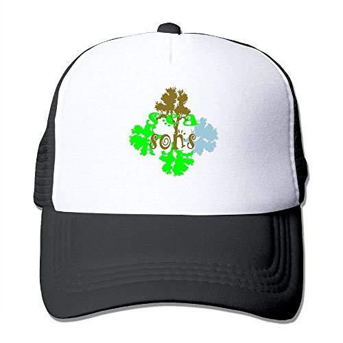 Cord-mesh Back Cap (Seasons3 Big Foam Mesh Hat Mesh Back Adjustable Cap Trucker Cap)