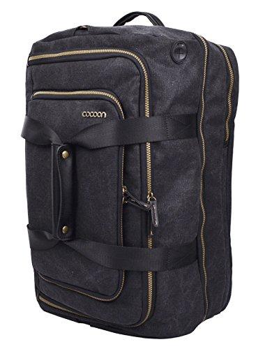 """Cocoon URBAN ADVENTURE - 17"""" Laptop Reise-Bag mit Organisationssystem / Carry-On für Laptops / Reise-Tasche / Reise-Handtasche für Tablet, Laptop / Tragegriffe & Schulterriemen / Schwarz - 17"""" Zoll"""