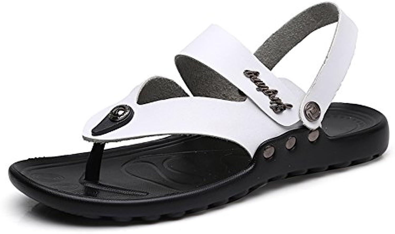 Zapatillas de Senderismo para Hombres Zapatillas de Playa de Verano Sandalias con Suela Antideslizante
