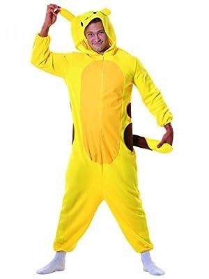 Disfraz de roedor amarillo adulto de Generique