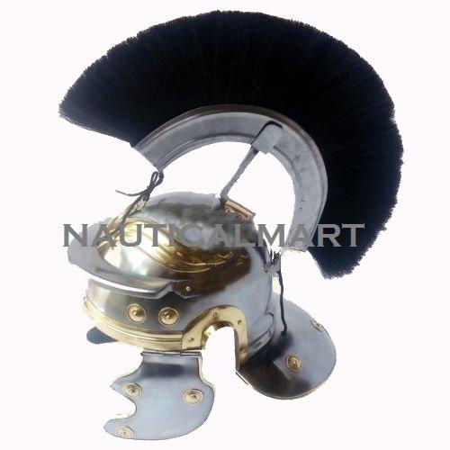 romischen-legionaire-soldier-centurion-stahl-helm-mit-schwarz-plume-von-nauticalmart