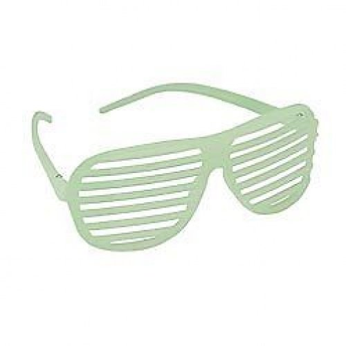 Glühen / Glow Neuheit-Shutter Shades Sonnenbrille