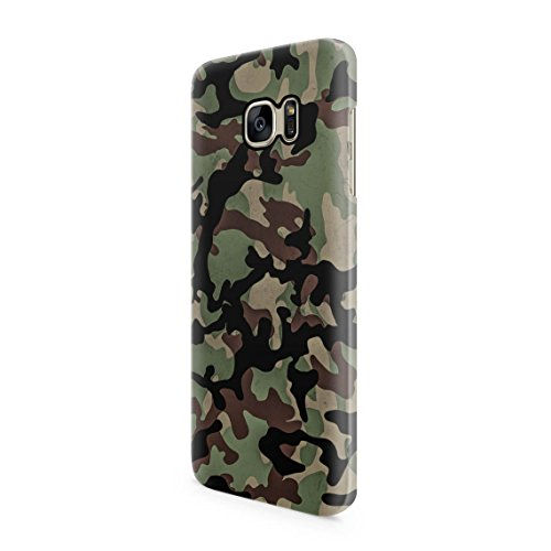 Original Camouflage Pattern Durable Hard Plastic Snap-On Plastic Phone Case Cover For Samsung Galaxy S7 (Army Camouflage Pattern)