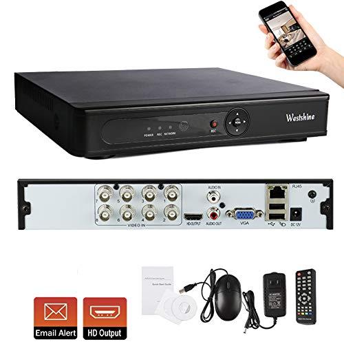 Westshine 8 Kanal 1080N Digitaler Videorekorder CCTV Netzwerk DVR H.264 HDMI Video Wiedergabe für Sicherheit Überwachung Kamera