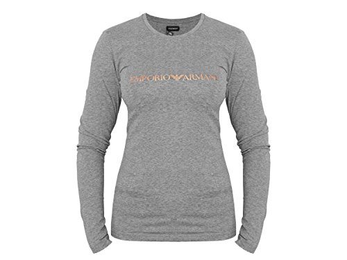 Emporio Armani - T-Shirt - Femme Small - Noir - Small