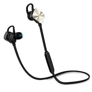 Mpow Wolverine Auricolari Wireless Sport Bluetooth 4.1 Stereo for SmartPhones, Dorato