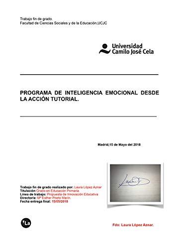 Programa de inteligencia emocional desde la acción tutorial (viveLibro Lanzamiento)