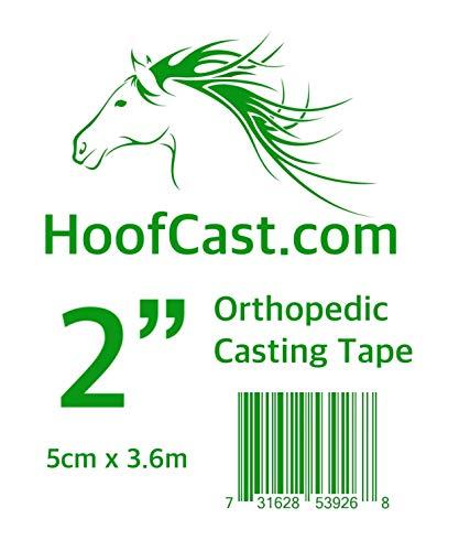 Hoof Cast Orthopädische Casting Tape für Pferde, 2 Zoll 5 cm Rolle -