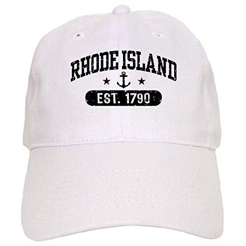 Rhode Island Cap - Baseball Cap Verstellbarer Verschluss, einzigartige Baseballmütze QW614