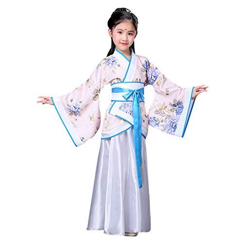 Nationalen Chinesischen Weiblich Kostüm - Meijunter Chinesischer Stil Retro Hanfu - Traditionell Uralt Prinzessin Performance Kostüm Tanz Kleid Cosplay Kleidung