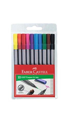 Faber-Castell – Estuche con rotuladores de punta fina grip