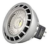 6 Watt [Greenline®] LED COB -DIMMBAR-Spot Strahler MR16 / GU5.3 12V DC warmweiß