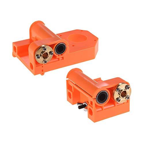 Leslaur 3D-Drucker-Teile X-Achsenende Kunststoff-Spritzgussteile M8-Schrauben für A8 / P802