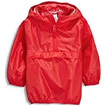 Next Boy Girl Red Raincoat Age 4 Years cag In A Bag Lightweight Cagoule Mac