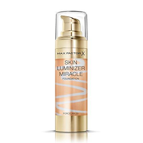 Max Factor Thunder & Light Skin Luminizer Porcelain Foundation - 30 Porcelain, 30 ml - Subtilen Glanz-finish