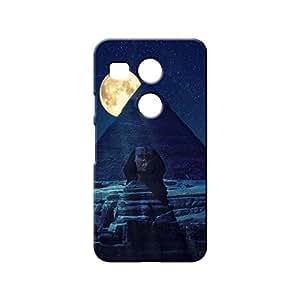 BLUEDIO Designer 3D Printed Back case cover for LG Nexus 5X - G3858