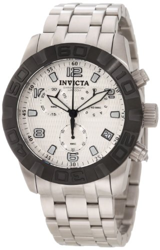 Invicta Women's 47mm Steel Bracelet & Case Flame-Fusion Crystal Swiss Quartz Silver-Tone Dial Watch 11453