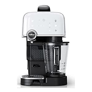 LVZ10080231 Espresso Coffee Maker with 1200W and 1.2L Tank Capacity in White