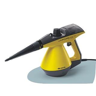 Ariete Vaporì Aspira Jet Handheld Steam Cleaner, 0.175 L, 900 Watts, 3 Bar, Yellow