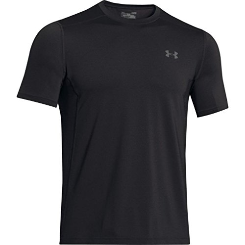 Under Armour Herren Raid SS Fitness-T-Shirts & Tanks, Black, M