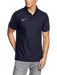 Nike TS Core Polo, Hombre, Azul Marino / Blanco (Obsidian / White), XL