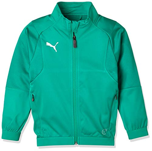 PUMA Kinder Liga Training Jacket Jr jacke, Pepper Green White, 116