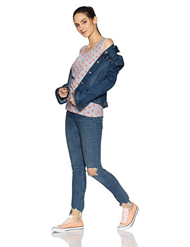 Cloth-Theory-Womens-Polka-Dot-T-Shirt