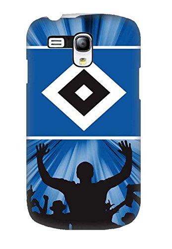 Tasche für Samsung Galaxy S3 Mini Schutzhülle Hamburger SV HSV 3D Football Club, Galaxy S3 Mini Hülle Mädchen Sprüche, Anti Scratch Handyhülle für Galaxy S3 Mini
