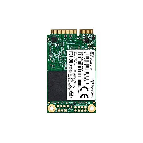 Transcend 128GB SATA III 6Gb/s MSA370 mSATA SSD 370 SSD TS128GMSA370 -