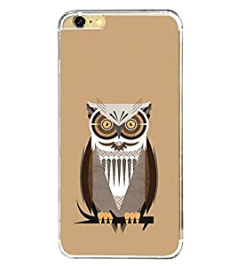 Lonely Owl 2D Hard Polycarbonate Designer Back Case Cover for Apple iPhone 6S