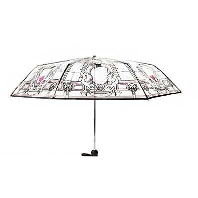 Parapluie Rétractable Lollipops Sopera Foldable Transparent