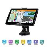 GPS Navigatore Satellitare 7 Pollici GPS Per Auto include Codici Postali, Ricerca POI, Avvisi...