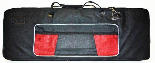 Verstärkte Tastatur Tasche–76Schlüssel–Dicke, gepolsterte + große Taschen, Tragegurt + Tragegriff–Medium (Verstärkt Tastatur)
