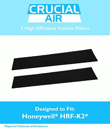 Preisvergleich Produktbild 2 Honeywell Carbon Filter Passen fd-070,  hfd-120,  hfd-12-q,  hfd-12-tgt,  hfd-123-hd,  hfd300,  hfd310,  hfd314,  hfd320,  hfd323-tgt & hfd324,  vergleichen zu Teil hrf-k2,  entworfen und hergestellt von Crucial Air